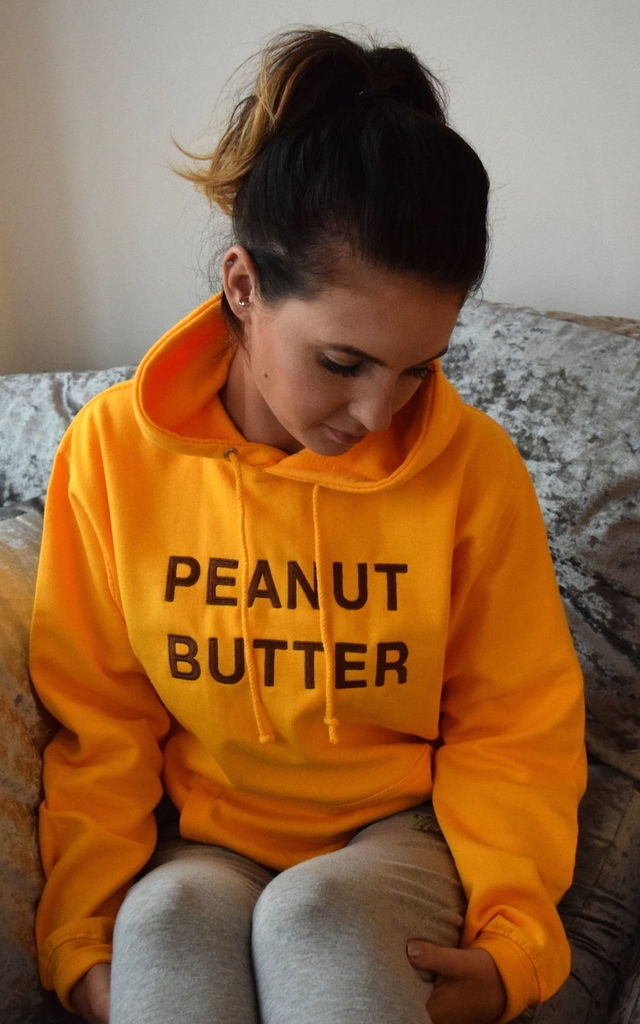 Peanut Butter Hoodie by Twisted Saint