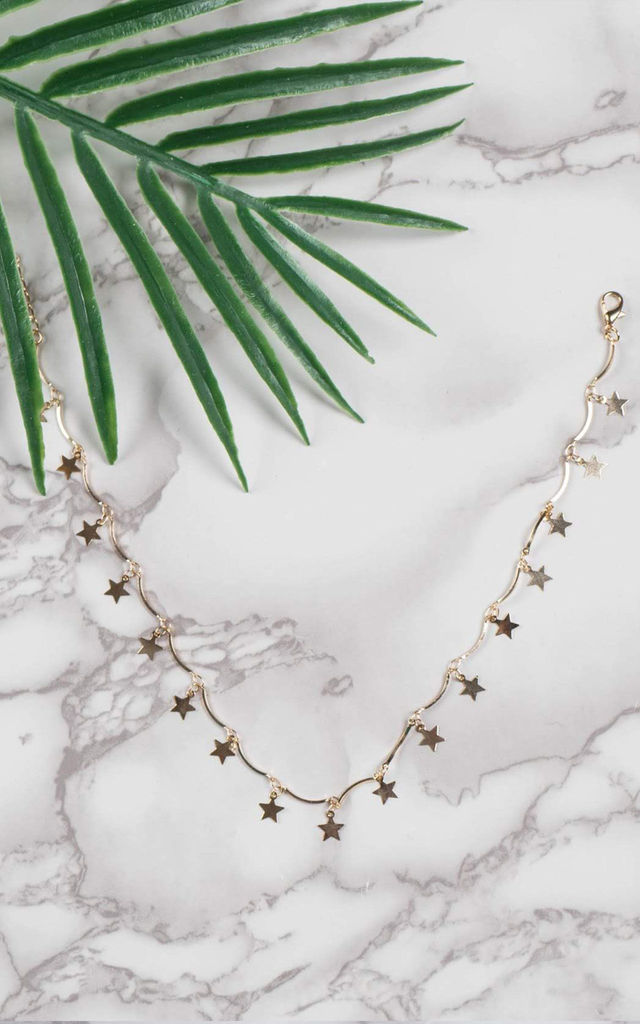 Star Choker Necklace by The Lustre Company