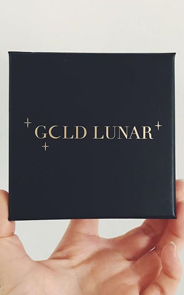 T Bar Gold Chain Necklace by Gold Lunar
