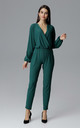 Green Classic Jumpsuit by FIGL