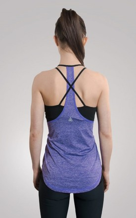 Criss Cross Back Lucy Top by Yoga Pants