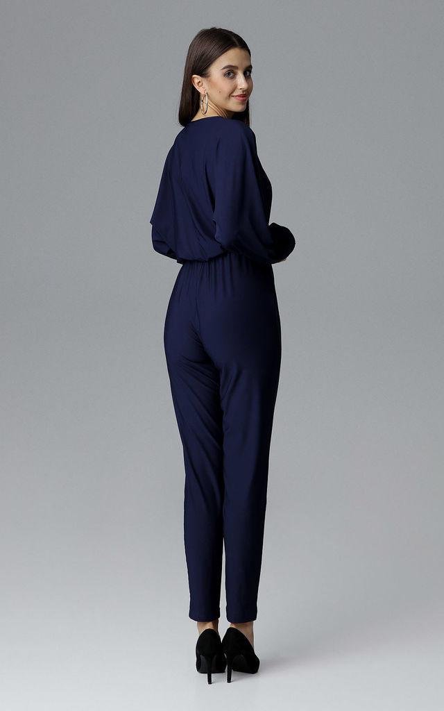 Navy Classic Jumpsuit by FIGL