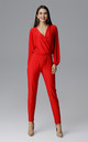 Red Classic Jumpsuit by FIGL