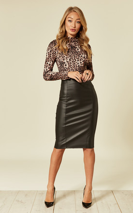 073b954f0 Leather Skirts | Faux Leather Mini & Midi Skirts | SilkFred