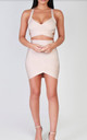 Bianca Nude Bandage Bodycon Skirt by My Bandage Dress