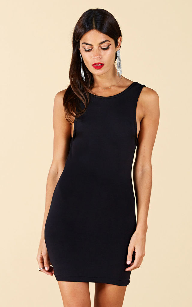 Martinez Mini Dress in Black image