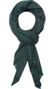 Classic Cashmere Scarf in Forest Green by Ocean Ray