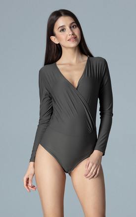 Olive Body With Long Sleeves by FIGL
