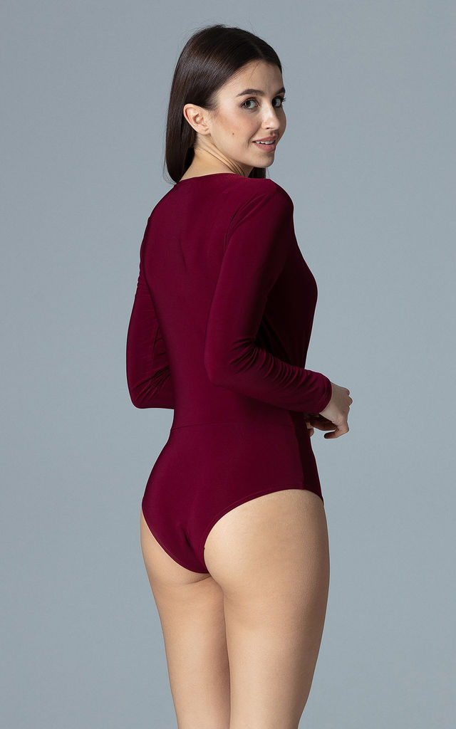 Deep Red Body With Long Sleeves by FIGL