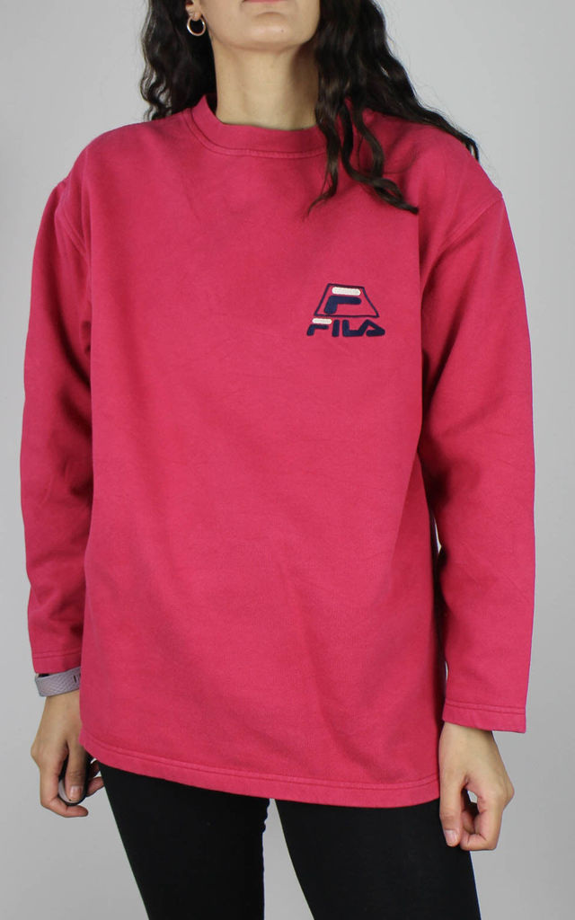 Vintage Fila Sweatshirt with Logo Front by Re:dream Vintage
