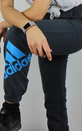 Vintage Adidas Joggers Sweatpants w Logo Front & Back by Re:dream Vintage