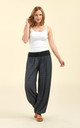 Slouchy pants in black by From London with Love