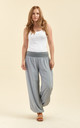 Slouchy pants in grey by From London with Love
