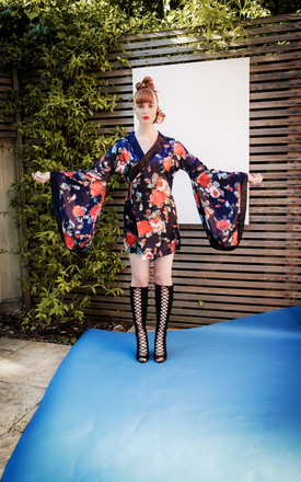 A Girl Like You Kimono by KITES AND BITES Product photo