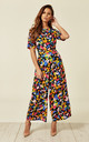 Bianca Confetti Jumpsuit in Multi by Traffic People