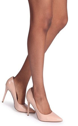 d68b0d1d64e Aston Nude Patent Classic Pointed Court Heel