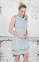 Ice Blue Anna Dress by Blonde And Wise