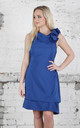 Royal Blue Anna Dress by Blonde And Wise