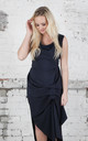 Navy Willow Dress by Blonde And Wise