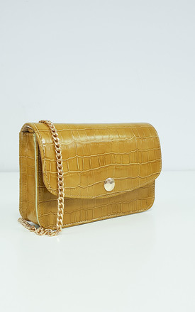 MUSTARD IT BAG by THE CODE HANDBAGS