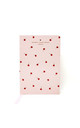 Pink Rose Ditsy Print A5 Notebook by Johnny Loves Rosie