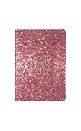 Pink Glitter A5 Notebook by Johnny Loves Rosie