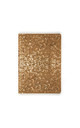 Gold Glitter A5 Notebook by Johnny Loves Rosie