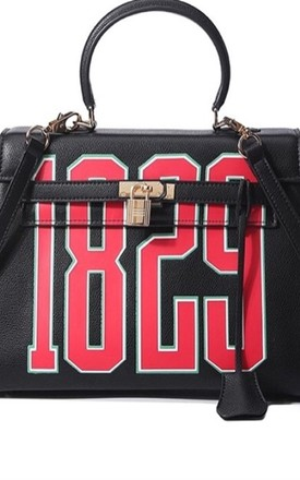JoJo Bag in Black and Red by Broke and Beautiful