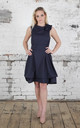 Navy Mia Dress by Blonde And Wise