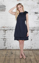Navy Anna Dress by Blonde And Wise