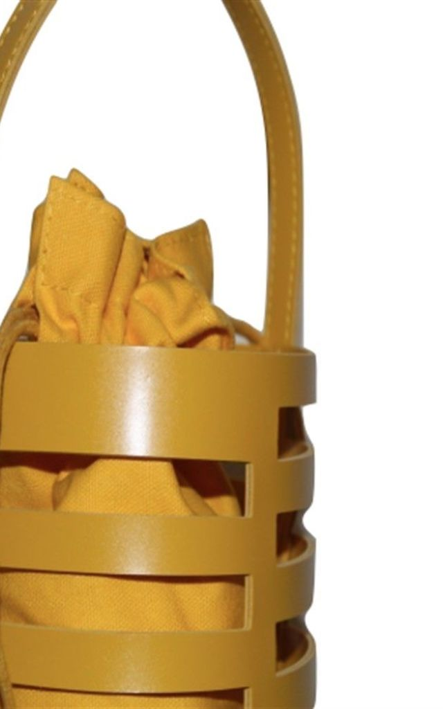 Vogue Bucket Bag in Yellow by Broke and Beautiful