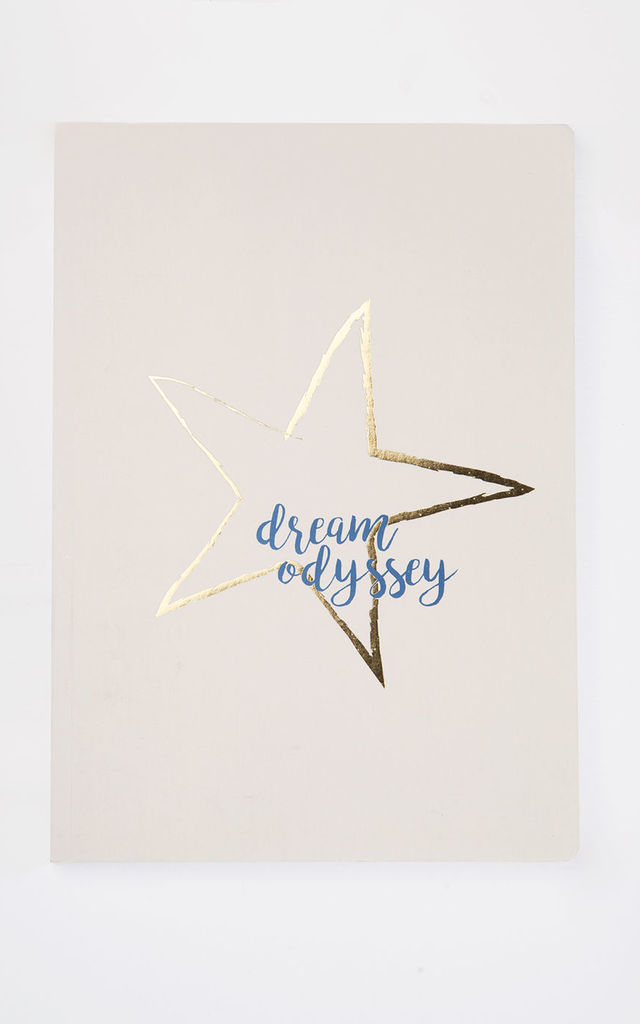Dream Odyssey Star Beige A5 Notebook by A Gift From The Gods