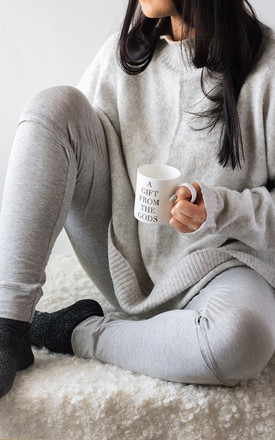 Grey Loungewear Bottoms by A Gift From The Gods