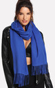 Royal Blue Soft Wool Cashmere Scarf/Shawl by Urban Mist