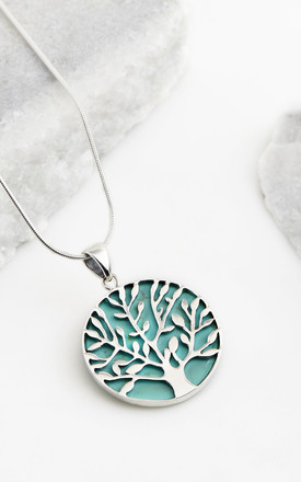 Tree Of Life Healing Necklace   Turquoise by Charlotte's Web Product photo