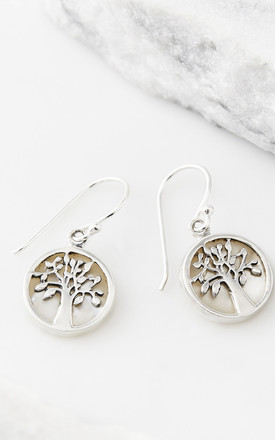 Tree Of Life Healing Earrings   Mother Of Pearl by Charlotte's Web Product photo