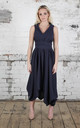 Navy Darcy Dress by Blonde And Wise