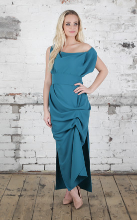 Teal Willow Dress by Blonde And Wise