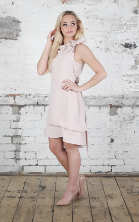 Nude Anna Dress by Blonde And Wise