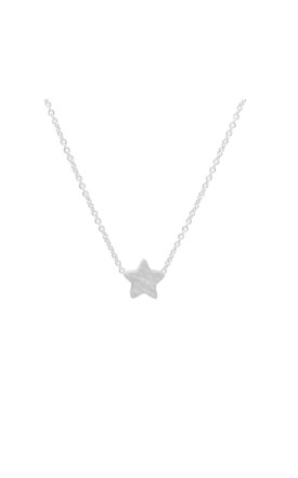 Star Necklace In Silver by White Leaf Product photo