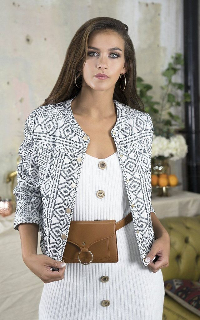 Kami Aztec Jacket by Lavand Stories