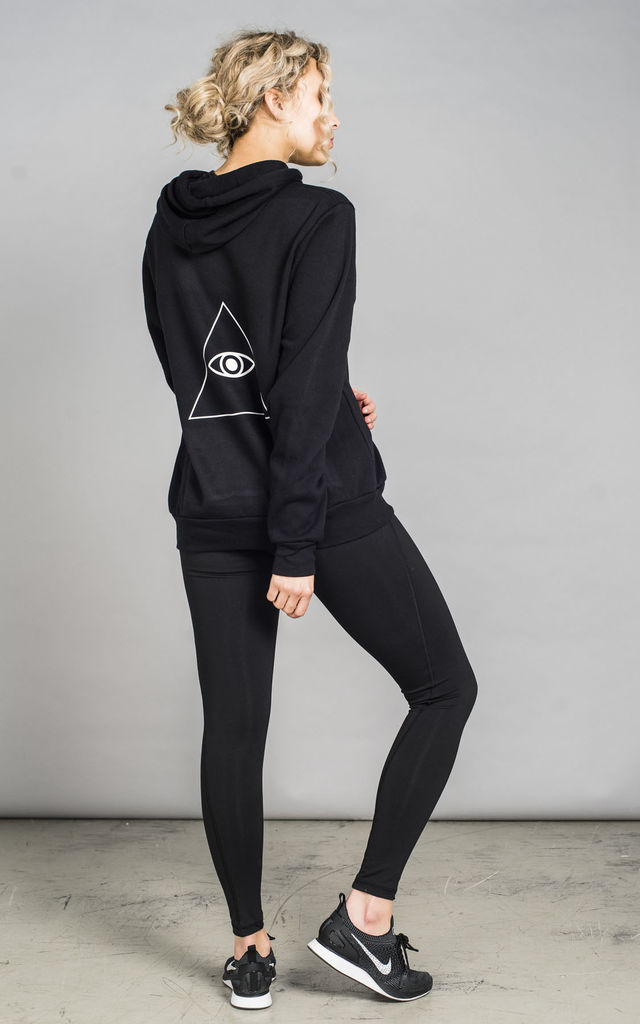 ST Chill Hoodie Black by Seeing Thngs