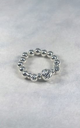 Glitz Sterling Silver Ring by DarcyRose Jewellery