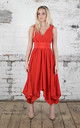 Blood Orange Darcy Dress by Blonde And Wise