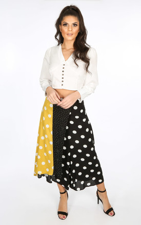 Polka Dot Wrap Over Culottes by Dressed In Lucy
