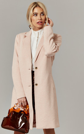 Rose Longline Two Button Coat by ONLY