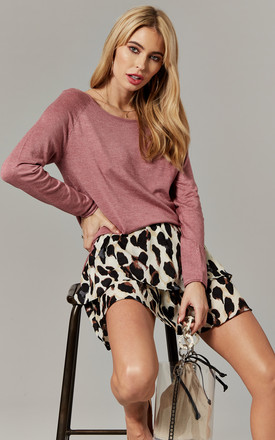 Mesa Rose Long Sleeve Pullover Knit by ONLY