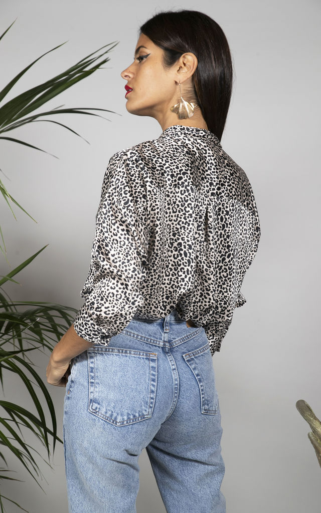 Monte Carlo Shirt in Nude Leopard image