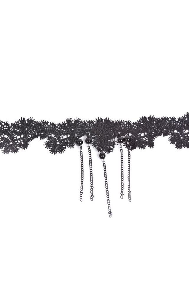 Embellished Choker by Accessory O