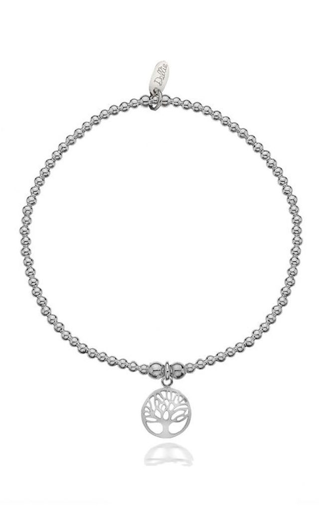 Sterling Silver Tree Of Life Bracelet by Dollie Jewellery